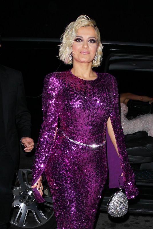 BEBE REXHA at Diana Ross 75th Birthday Bash in Hollywood 03/26/2019