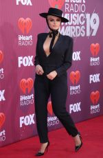 BEBE REXHA at Iheartradio Music Awards 2019 in Los Angeles 03/14/2019