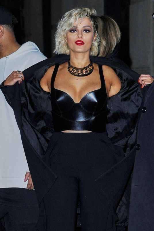 BEBE REXHA Night Out in New York 03/04/2019