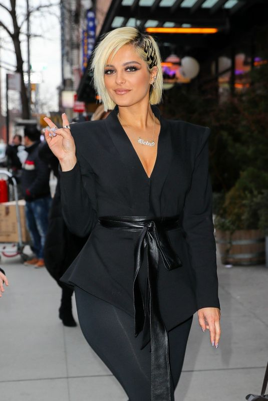 BEBE REXHA Out in New York 02/27/2019