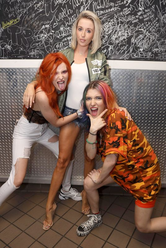 BELLA and DANI THORNE and LIL JON Performs at LIV in Miami 03/13/2019