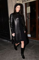 BELLA HADID Leaves Vogue Party in Paris 03/03/2019