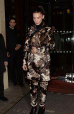 BELLA HADID Leaves Vogue Party in Paris 03/04/2019