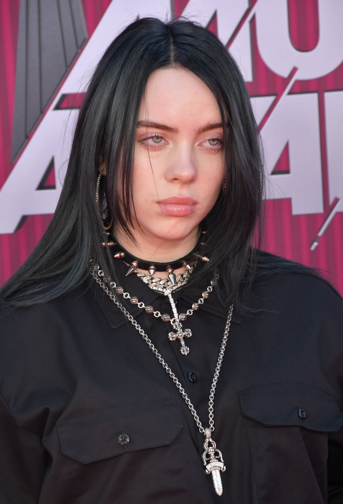 All The Girls Standing In The Line For The Bathroom: BILLIE EILISH At Iheartradio Music Awards 2019 In Los