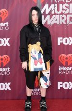 BILLIE EILISH at Iheartradio Music Awards 2019 in Los Angeles 03/14/2019