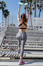 BLANCA BLANCO Workout at Muscle Beach in Venice 03/09/2019
