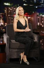 BRIE LARSON at Jimmy Kimmel Live Show! 03/04/2019