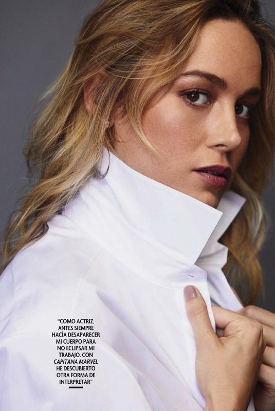 BRIE LARSON in Fotograms Magazine, March 2019