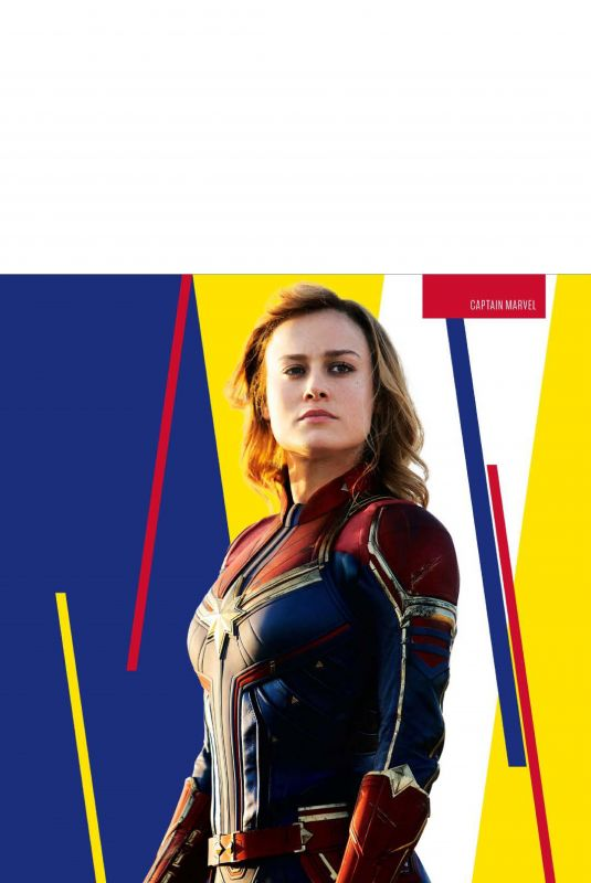 BRIE LARSON in SFX Magazine, April 2019