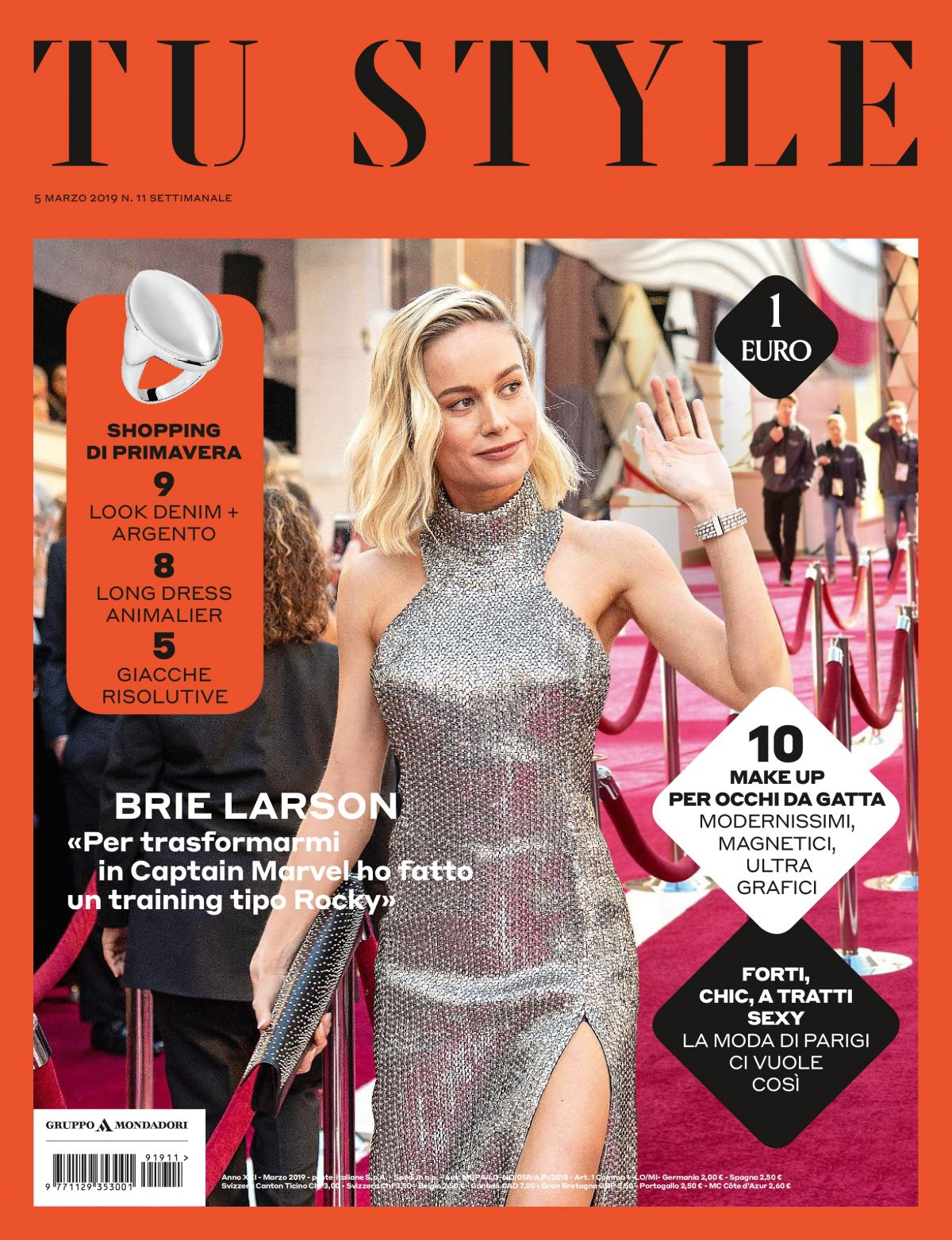 Tustyle Magazine November 2015 Issue: BRIE LARSON In Tu Style Magazine, March 2019