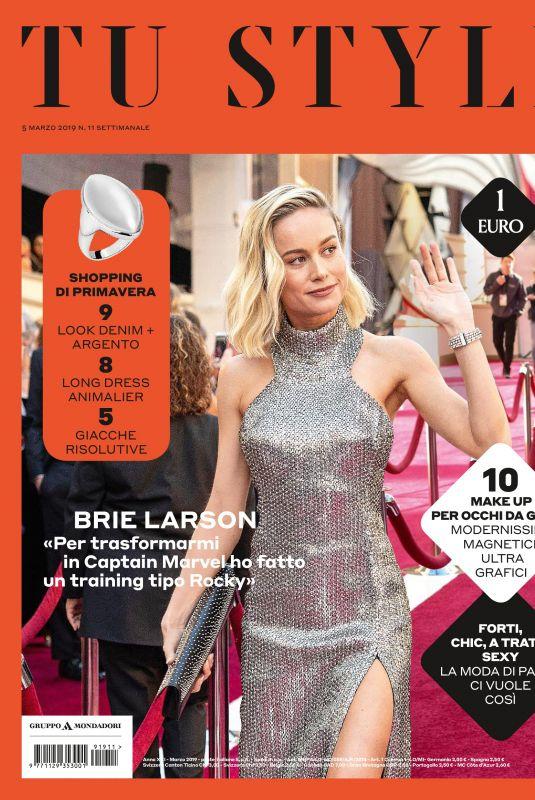BRIE LARSON in Tu Style Magazine, March 2019