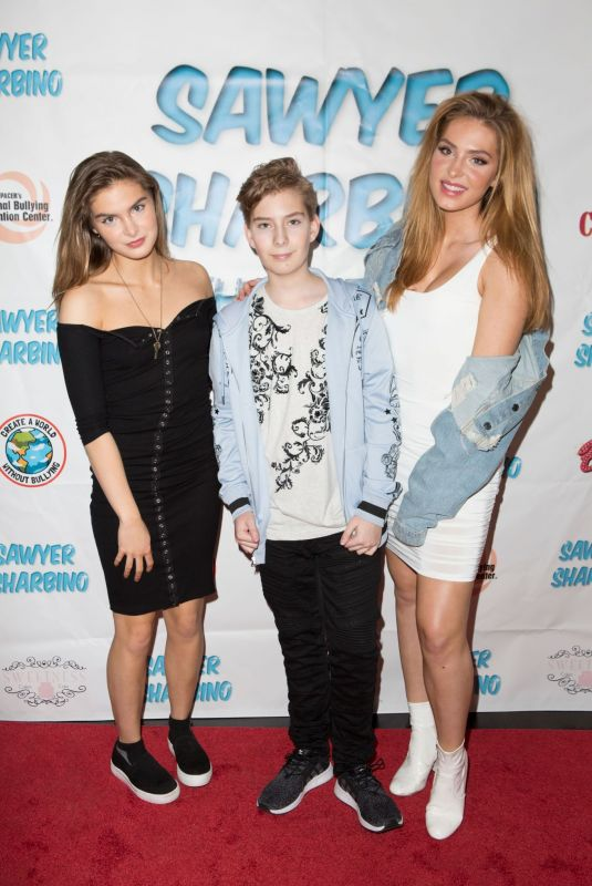 BRIGHTON and SAXON SHARBINO at Sawyer Sharbino