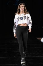 BRIGHTON SHARBINO at Chick Runway Show at NYFW in New York 02/09/2019