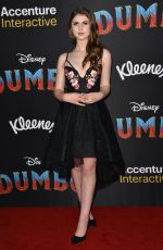 BROOKE BUTLER at Dumbo Premiere in Los Angeles 03/11/2019