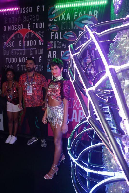 BRUNA MARUEZINE at Sambadrome Marques De Sapucai for Carnival in Rio De Janeiro 03/04/2019