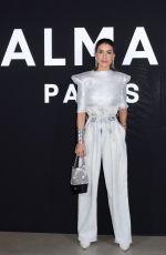 CAMILA COELHO at Balmain Show at Paris Fashion Week 03/01/2019