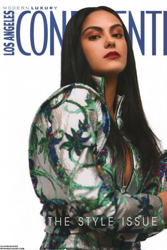 CAMILA MENDES in Los Angeles Confidential Magazine, March/April 2019
