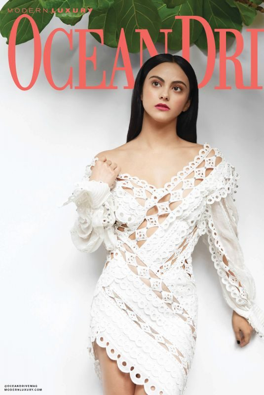 CAMILA MENDES in Ocean Drive Magazine, March 2019