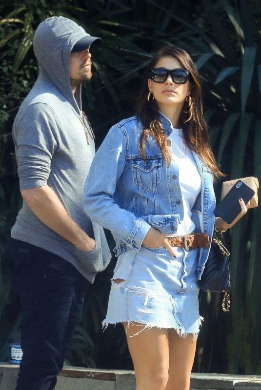 CAMILA MORRONE and Leonardo Dicaprio Out Shopping in West Hollywood 03/07/2019