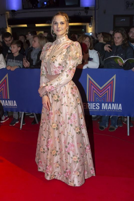 CAMILLE LOU at 2nd Series Mania Festival Opening Ceremony in Lille 03/23/2019