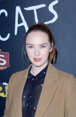 CAMRYN GRIMES at Cats Opening Night Performance in Hollywood 02/27/2019