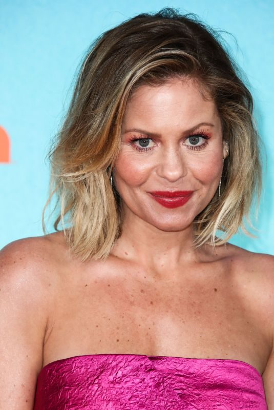 CANDACE CAMERON BURE at Nickelodeon's Kids' Choice Awards 2019 in Los Angeles 03/23/2019