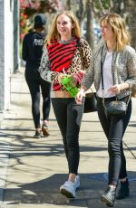 CANDICE ACCOLA Out and About in Los Angeles 03/13/2019