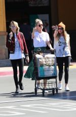 CARA DELEVINGNE and ASHLEY BENSON Out Shopping in Studio City 03/16/2019