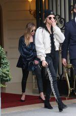 CARA DELEVINGNE Leaves Ritz Hotel in Paris 03/05/2019