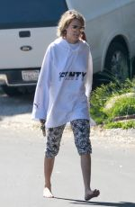 CARA DELEVINGNE Out and About in Los Angeles 03/15/2019