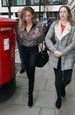 CARLY PEARCE Leaves BBC Radio in London 03/07/2019