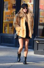CAROLINE FLACK Out and About in New York 03/11/2019
