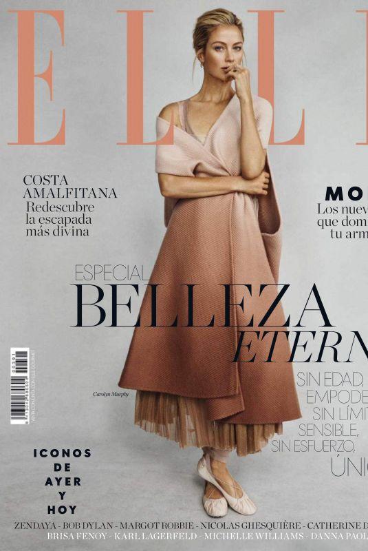 CAROLYN MURPHY in Elle Magazine, Spain April 2019