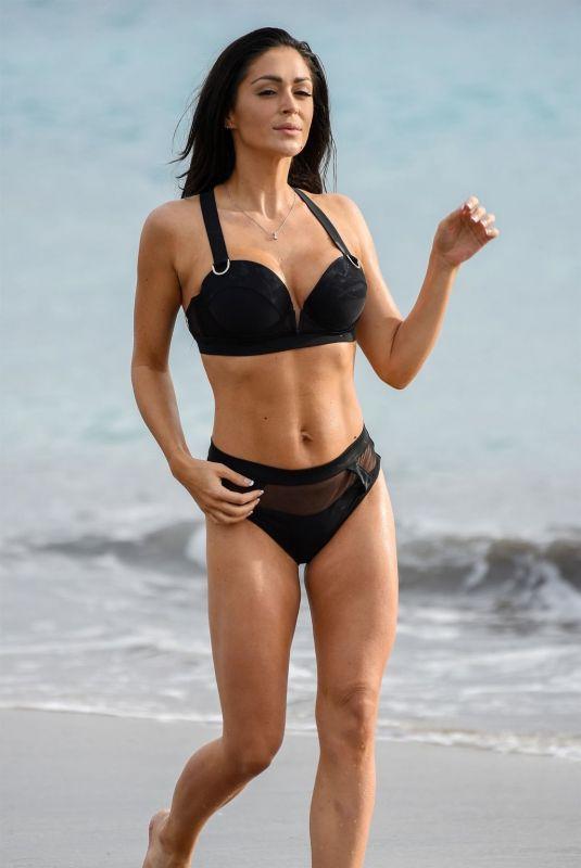 CASEY BATCHELOR in Bikini Filming Her Yoga Blitz App in Tenerife 03/16/2019