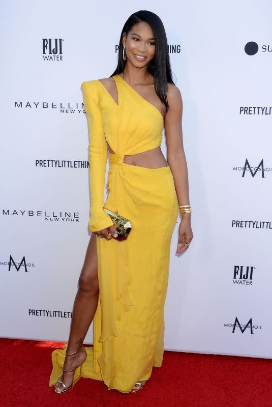 CHANEL IMAN at Daily Front Row Fashion LA Awards 03/17/2019