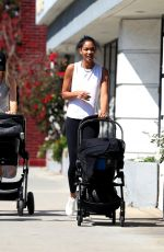 CHANEL IMAN Out in West Hollywood 03/25/2019