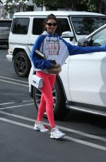 CHANTEL JEFFRIES Out for Lunch in West Hollywood 03/01/2019