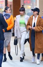 CHARLI XCX Leaves Her Hotel in New York 03/14/2019