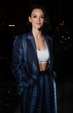 CHARLOTTE LE BON Arrives at Tommy Hilfiger Tommynow Spring 2019: Starring Tommy x Xendaya Premieres in Paris 03/02/2019