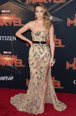 CHLOE BENNET at Captain Marvel Premiere in Hollywood 03/04/2019