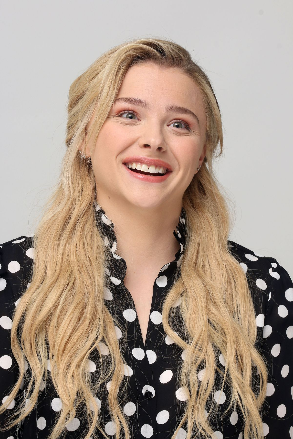 CHLOE MORETZ at Greta Press Conference in Beverly Hills 02 ...