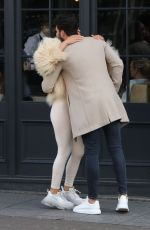 CHLOE SIMS and Dan Edgar Filming Out in Brentwood 03/19/2019