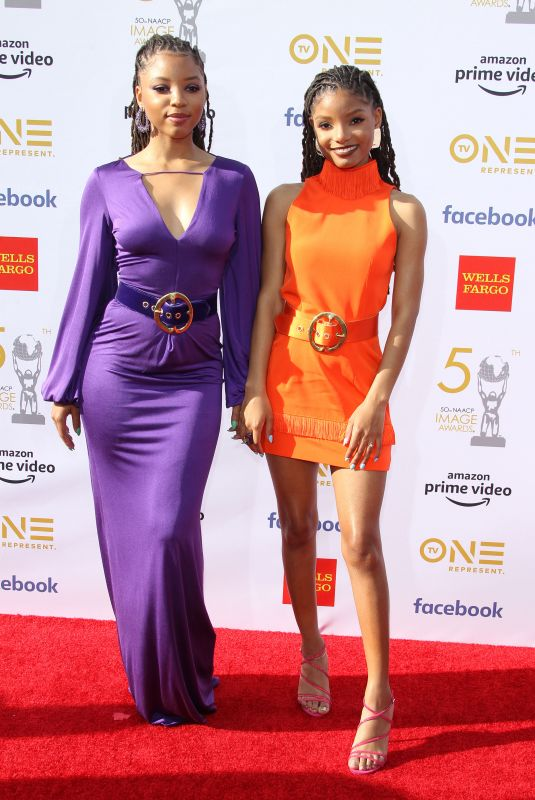 CHLOE X HALLE at Naacp Image Awards 2019 in Hollywood 03/30/2019