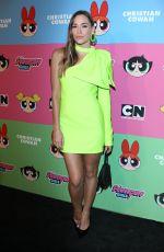 CHRISTA B ALLEN at Christian Cowan x Powerpuff Girls Show in Los Angeles 08/03/2019
