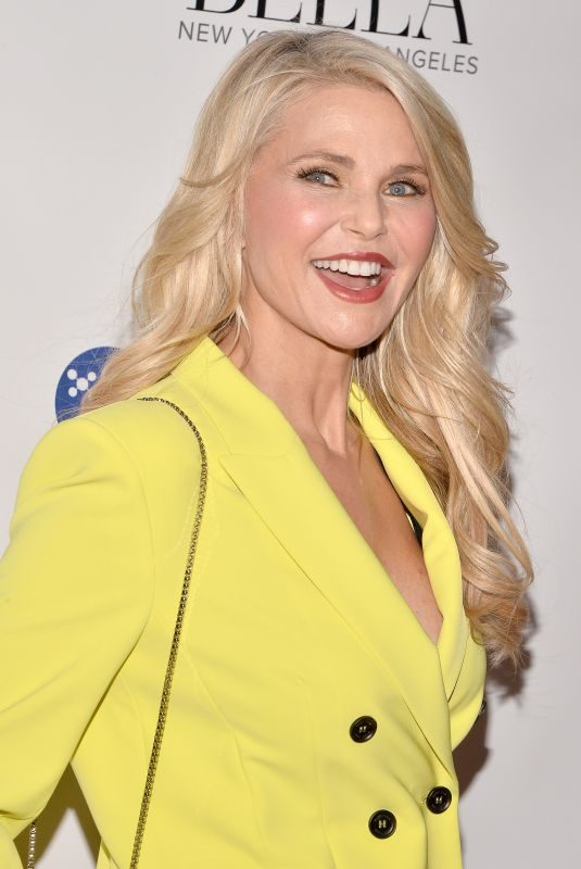 CHRISTIE BRINKLEY at Bella Magazine Cover Launch Party for Influencer Issue in New York 03/13/2019