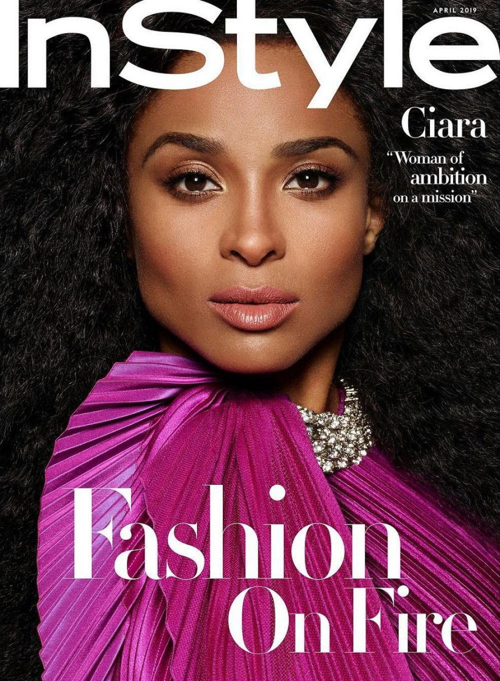 Instyle Magazine Us: CIARA In Instyle Magazine, April 2019 Issue