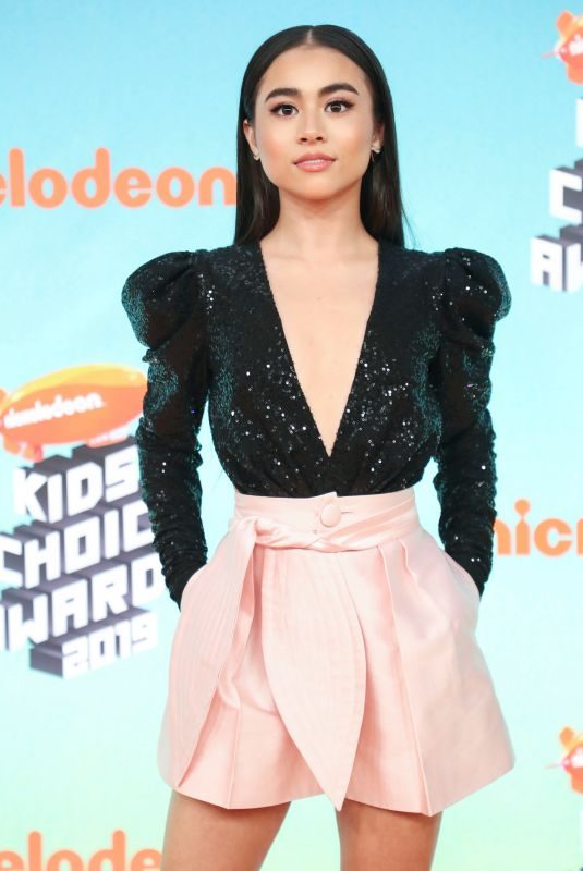 CIARA RILEY WILSON at Nickelodeon's Kids' Choice Awards 2019 in Los Angeles 03/23/2019