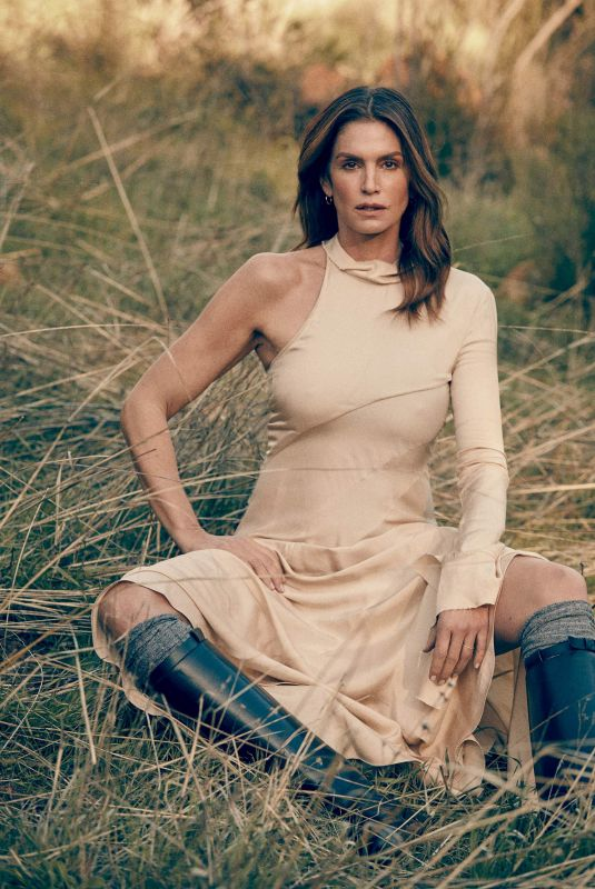 CINDY CRAWFORD for The Edit by Net-a-porter, March 2019