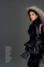 CINDY CRAWFORD in Elle Magazine, Italy March 2019