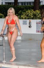 CLAUDIA ROMANI and JESS PICADO in Bikinis at a Pool in Miami 03/24/2019